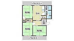 The City 姫路北[1-D号室]の間取り