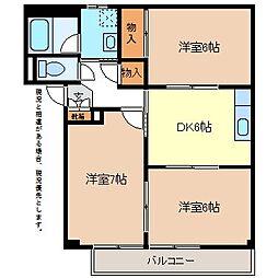 グランデ神田B棟[2階]の間取り