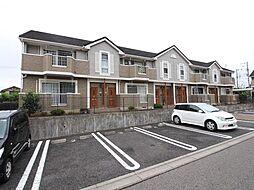 千葉県白井市西白井4丁目の賃貸アパートの外観