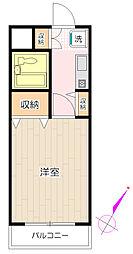 メゾン鶴ヶ島[207号室号室]の間取り