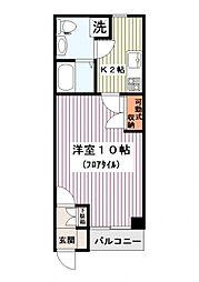 カンパニーレ横浜[405号室]の間取り