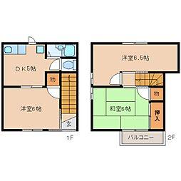 [一戸建] 静岡県静岡市駿河区丸子 の賃貸【/】の間取り