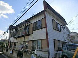 埼玉県さいたま市北区土呂町2丁目の賃貸アパートの外観