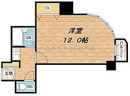 島之内松屋町ビル[5階]の間取り