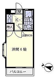 デュークガーデン金沢八景I[201号室]の間取り