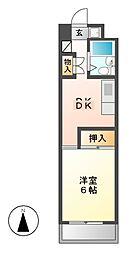 CASA NOAH鶴舞公園 II[7階]の間取り