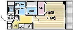カインド高井田[5階]の間取り