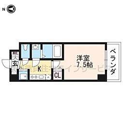 (仮称)西明田町レジデンス[506号室]の間取り