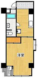 フドウ赤坂[5階]の間取り