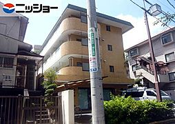 愛知県名古屋市昭和区山里町の賃貸マンションの外観