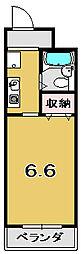 アクアフォーレ[4階]の間取り