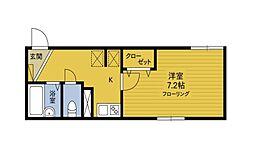 ボヌール江古田[1階]の間取り