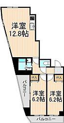 Maganda(マガンダ) 9階2LDKの間取り
