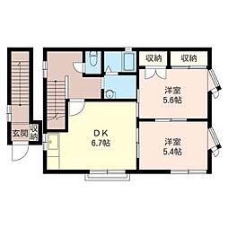 Casa・Verde A[2階]の間取り