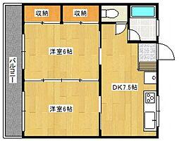 マンション106[1階]の間取り