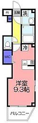 ツリーデン松戸III[2階]の間取り