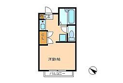 DBM松戸[1階]の間取り