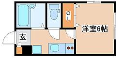 東自由が丘1丁目新築アパート[1020号室]の間取り