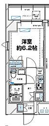 レジデンツア西神奈川[205号室]の間取り