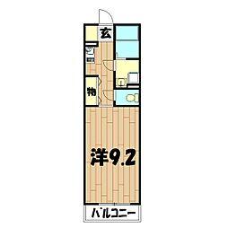 リファインドシーンII[4階]の間取り