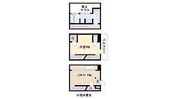 愛知県名古屋市天白区元八事3丁目の賃貸マンションの間取り