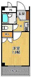 リッチライフ甲子園8[2階]の間取り