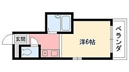 クワドリフォリオ[4階]の間取り