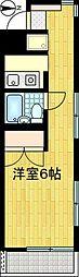 福満ビル[405号室]の間取り