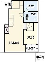 MaisonBlanche[2階]の間取り