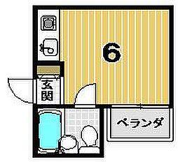 アルカディア塔ノ段[303号室]の間取り