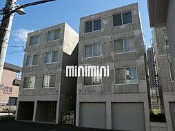 ブランノワール東札幌[4階]の外観