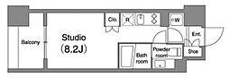 プラウドフラット笹塚[404号室号室]の間取り