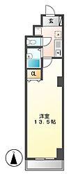 プロビデンス泉玉[7階]の間取り