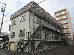 北海道札幌市東区北二十三条東16丁目の賃貸アパートの外観