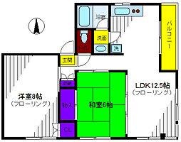 親松ビル[3階]の間取り