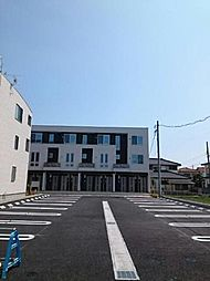 愛知県あま市坂牧阿原の賃貸アパートの外観