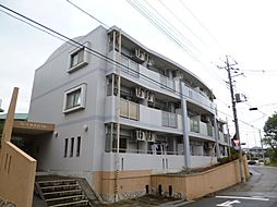 東京都日野市神明2丁目の賃貸マンションの外観