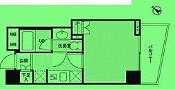 東京都中央区日本橋堀留町の賃貸マンションの間取り
