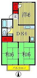 エルハウス五香[1階]の間取り