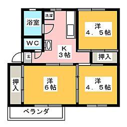 花崎マンション[1階]の間取り