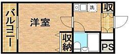 メゾンむさし野[2階]の間取り