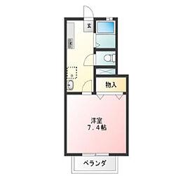 さくらま荘[1階]の間取り
