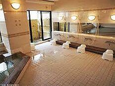天然温泉大浴場有り