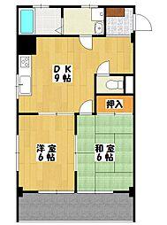 菅野マンション[2階]の間取り
