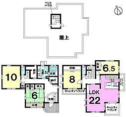 旭化成施工物件閑静な住宅街に佇む 屋上付の贅沢な暮らし ゆったり広々22帖の中古戸建