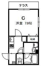 シャッツクヴェレ東日本橋[0103号室]の間取り