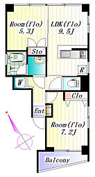 Casa Domani[3階]の間取り