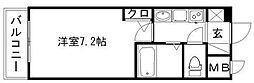 エステムコート博多・祇園ツインタワーファーストステージ[12階]の間取り