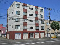 北海道札幌市東区北十三条東15丁目の賃貸マンションの外観