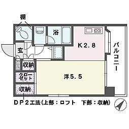 ソフィア 高宮[4階]の間取り